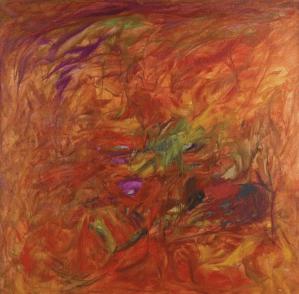 Peinture Mübin Orhon