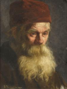 Peinture Vladimir Egorovitch Makovski