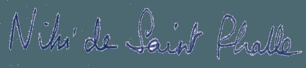 expertise signature niki de saint phalle