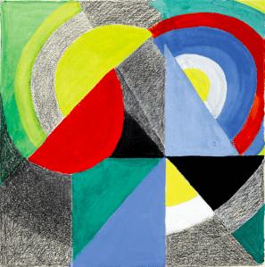 Dessin Sonia Delaunay-Terk