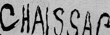 signature expertise Gaston Chaissac