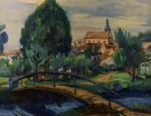Peinture Henri Epstein