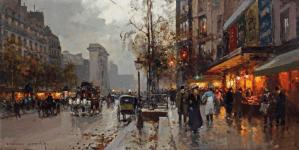 Peinture Edouard Cortes