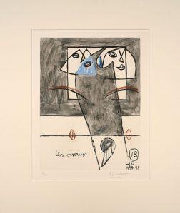Lithographie Le Corbusier estimation