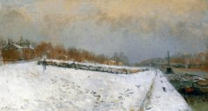 Peinture Albert Lebourg