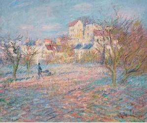 Peinture Gustave Loiseau