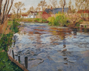 Peinture Frits Thaulow