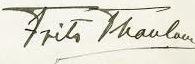 expertise signature Frits Thaulow