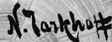 signature Nicolas TARKHOFF