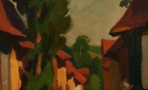 Peinture Jules Emile Zingg