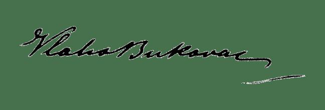 signature expertise Vlaho Bukovac