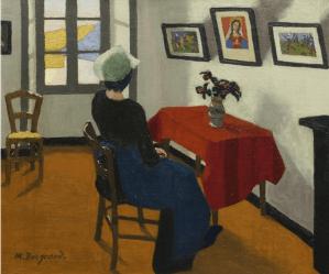 Peinture Marius Borgeaud
