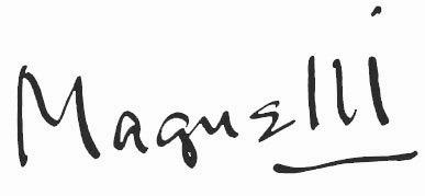 expertise signature Magnelli