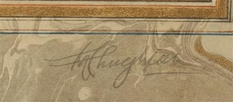 Abdur Rahman CHUGHTAI signature