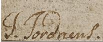 Jacob JORDAENS signature