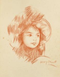 Dessin Mary Cassatt