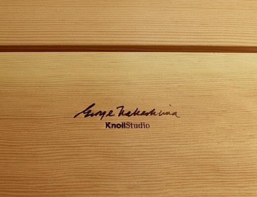 George NAKASHIMA signature