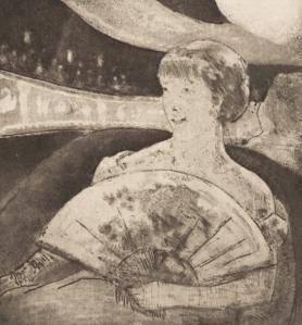 Estampe Mary Cassatt