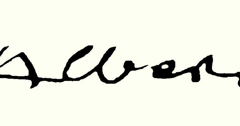Josef ALBERS signature