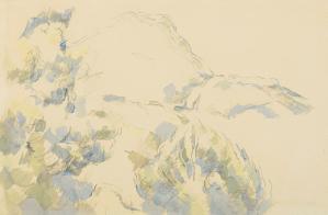 Dessin Paul Cézanne