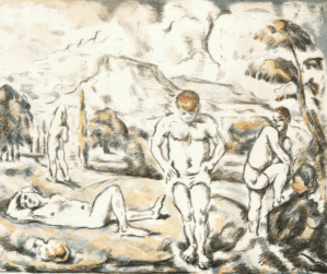 Estampe Paul Cézanne