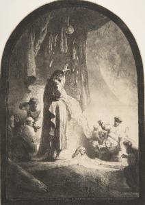Estampe Rembrandt