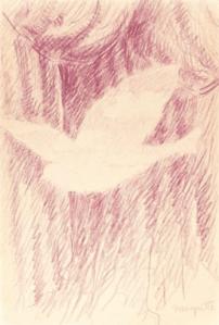 Dessin René Magritte