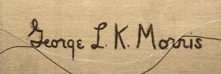 George L.K. MORRIS signature