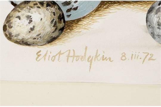 Eliot HODGKIN signature