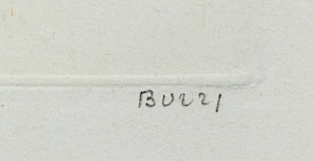 Alberto BURRI signature