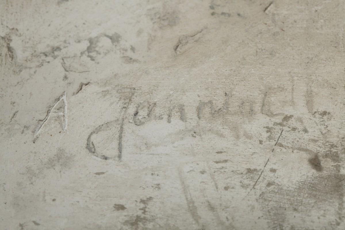 Alfred Janniot signature