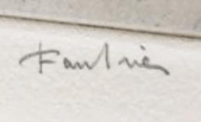 signature Jean FAUTRIER