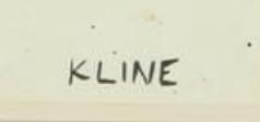 signature Franz Kline