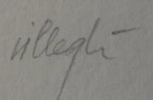 signature Jacques VILLEGLÉ