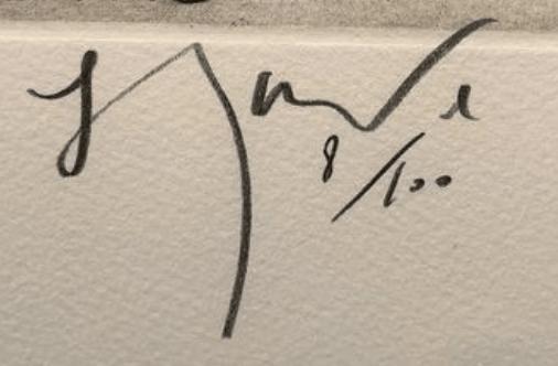 signature Gerard GAROUSTE