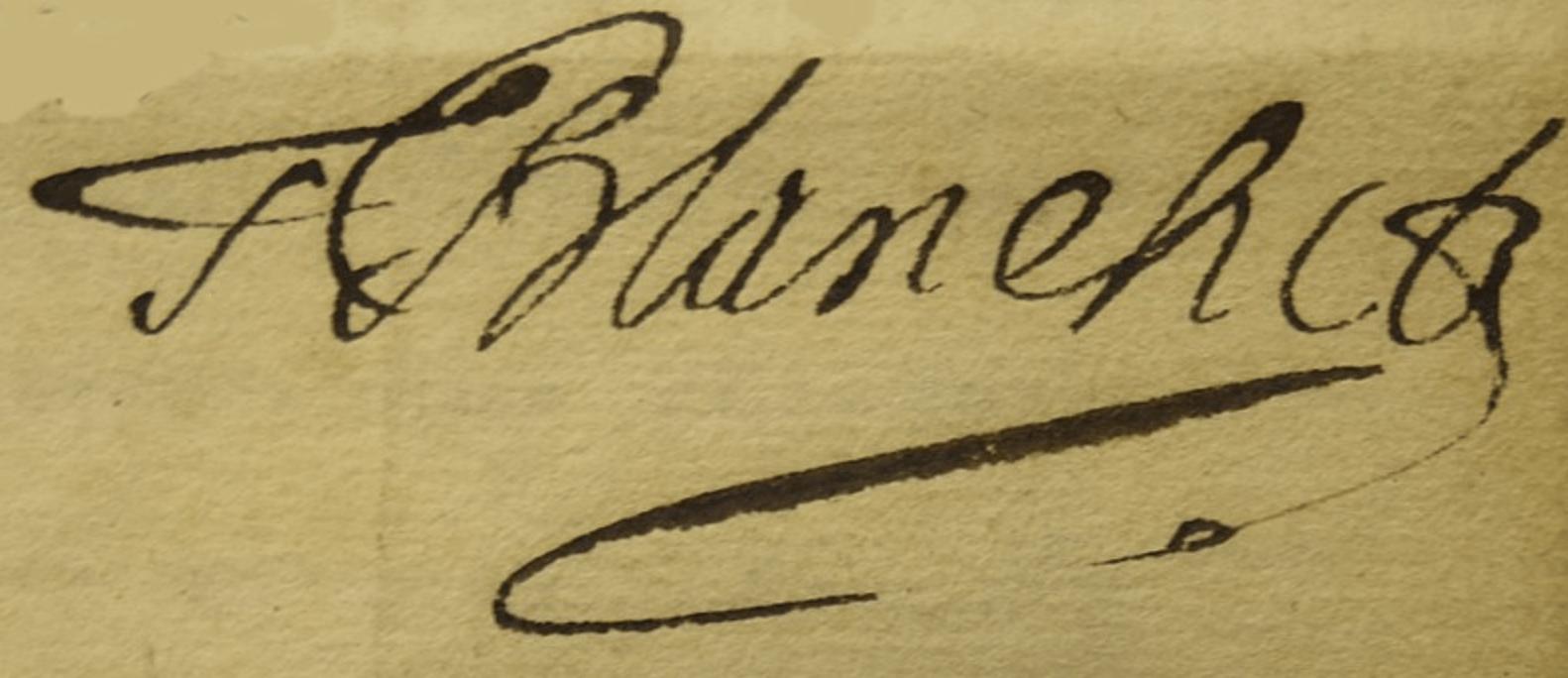 Thomas BLANCHET signature