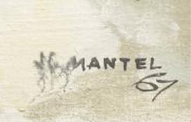 Jean-Gaston Mantel signature