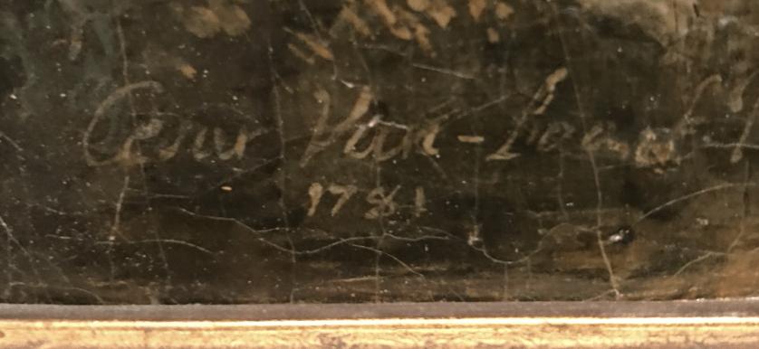 Jules César Denis VAN LOO signature