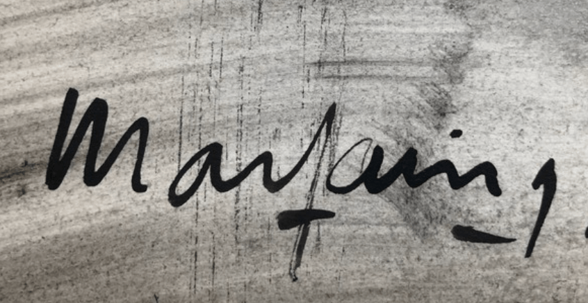 André MARFAING signature