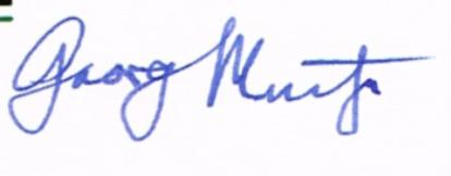 Georg MUCHE signature
