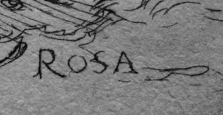Salvator ROSA signature