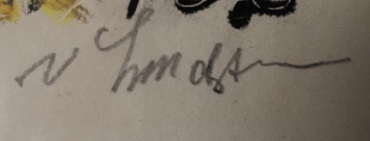 Vilhelm LUNDSTRØM signature