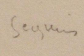 Armand SÉGUIN signature