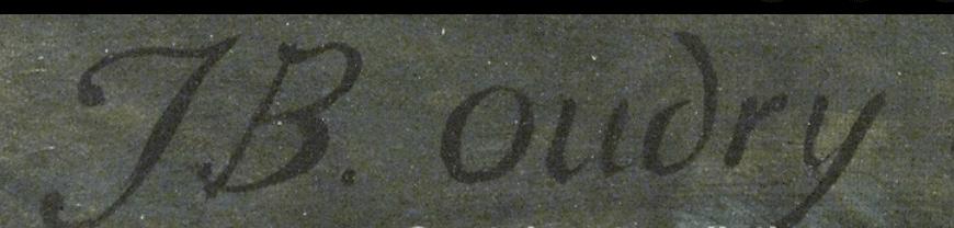 Jean-Baptiste OUDRY signature