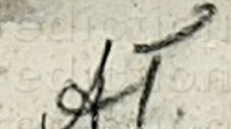 Aleksandr Jakovlevic GOLOVIN signature