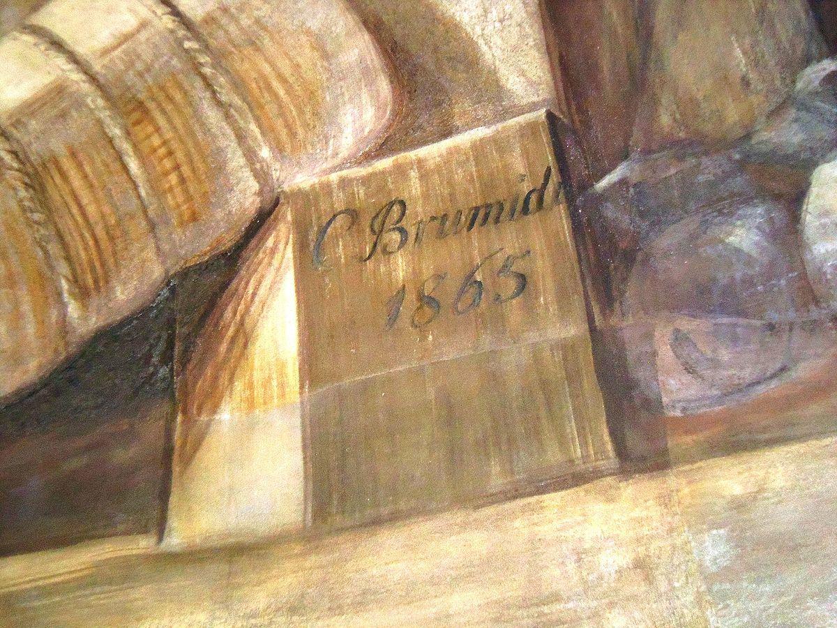 Constantino BRUMIDI signature