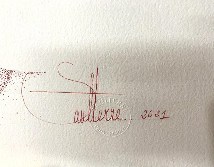Georges SAULTERRE signature