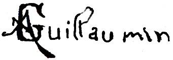 Expertise signature guillaumin