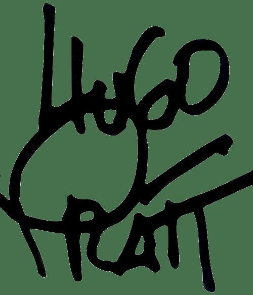 Hugo Pratt signature