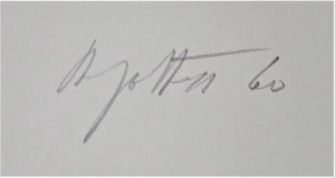 Jean DEGOTTEX signature